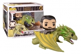 Game of Thrones Jon Snow with Rhaegal 67 Funko POP Vinyl Figure