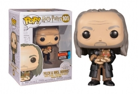 Harry Potter Filch and Mrs. Norris 101 Fall Convention 2019 Funko POP Figure