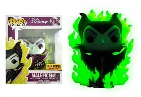 Disney Maleficent Green Flame Hot Topic Chase 232 Funko POP Vinyl Figure