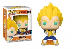 Dragon Ball Z Vegeta 669 Fall Convention 2019 Funko POP Vinyl Figure