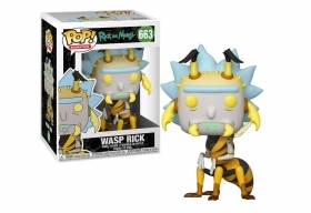 Rick and Morty Wasp Rick 663 F