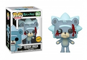 Rick and Morty Teddy Rick Chase 662 Funko POP Vinyl Figure