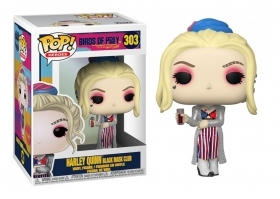 Birds of Prey Harley Quinn Black Mask Club 303 Funko POP Vinyl Figure
