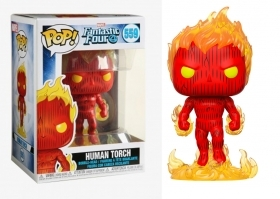 Marvel Fantastic 4 Human Torch Funko POP Vinyl Figure