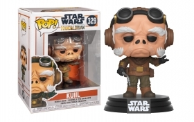 Star Wars The Mandalorian Kuill 329 Funko POP Vinyl Figure