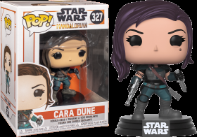 Star Wars The Mandalorian Cara Dune 327 Funko POP Vinyl Figure