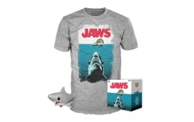 Jaws Bloody Pop and Tee Box Fu