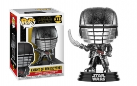 Star Wars Episode IX Knight of Ren Scythe Chrome 333 Funko POP Vinyl Figure