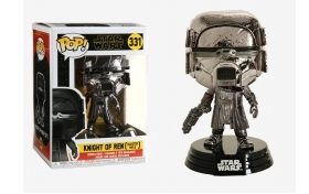 Star Wars Episode IX Knight of Ren Blaster Chrome 331 Funko POP Vinyl Figure
