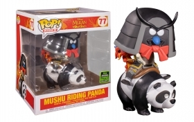 Disney Mulan Mushu Riding Panda Spring Convention 2020 77 Funko POP Vinyl Figure