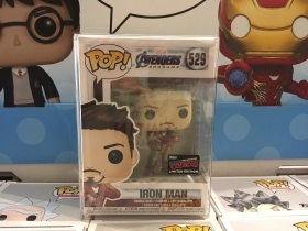 Marvel Avengers: Endgame Iron Man 529 Fall Convention 2019 Funko POP Figure