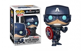 Marvel Avengers Gamerverse Captain America 627 Funko POP Vinyl Figure