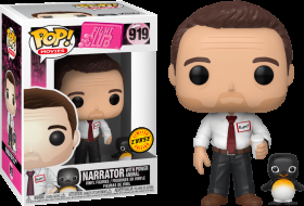 Fight Club Narrator with Power Animal Chase 919 Funko POP Vinyl Figure