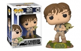 Star Wars Luke Skywalker and Yoda 363 Funko POP Vinyl Figure