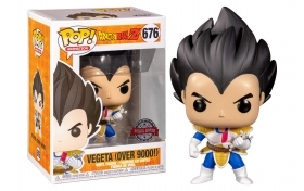 Dragon Ball Z Vegeta Over 9000