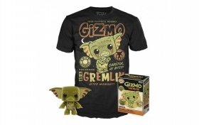 Gremlins Gizmo as Gremlin Pop and Tee Box Funko POP Vinyl Figure Taglia M
