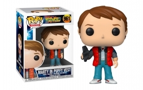 Back To The Future Marty in Puffy Vest 961 Funko POP Vinyl Figure