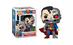 Superman Cyborg Superman Summer Convention 2020 Funko POP Figure