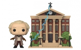 Back To The Future Doc with Clock Tower 15 Funko POP Vinyl Figure