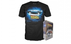 Back To The Future DeLoren T-Shirt Funko Taglia S