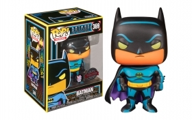 Batman The Animated Serie Batman Black Light 369 Funko POP Vinyl Figure