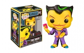 Batman The Animated Serie The Joker Black Light 370 Funko POP Vinyl Figure