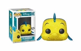 Disney Little Mermaid Flounder Diamond Glitter 237 Funko POP Vinyl Figure
