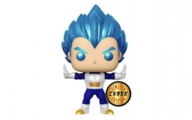 Dragonball Z Vegeta Powering Up Metallic Chase 713 Funko POP Vinyl Figure